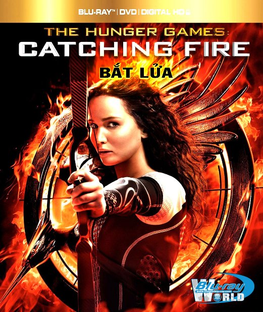 B1606. The Hunger Games Catching Fire 2013 - BẮT LỬA 2D 25G (DTS-HD MA 7.1)