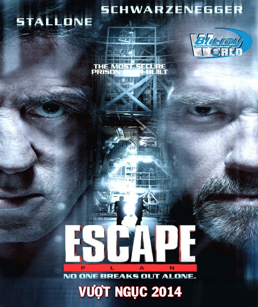 B1608. Escape Plan 2013 - VƯỢT NGỤC 2014 2D 25G (DTS-HD MA 5.1)