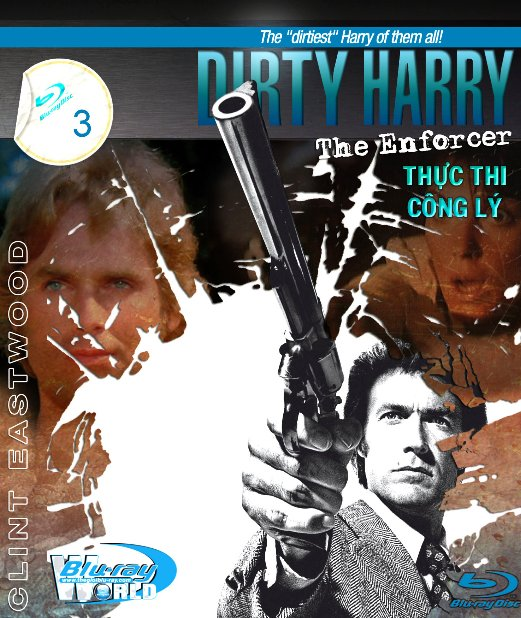 B1654. Dirty Harry 3 The Enforcer - THANH TRA HARRY 3 - THỰC THY CÔNG LÝ 2D 25G (DTS-HD MA 5.1)