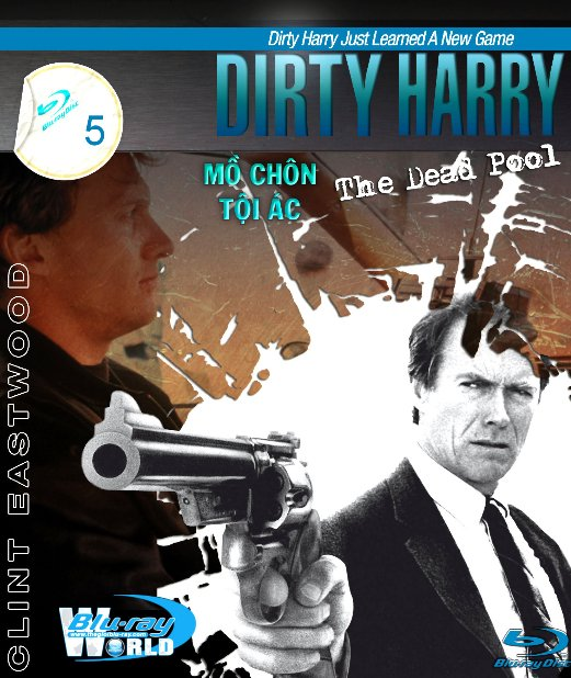 B1656. Dirty Harry 5  The Dead Pool  - THANH TRA HARRY 5 - MỒ CHÔN TỘI ÁC 2D 25G  (DTS-HD MA 5.1)
