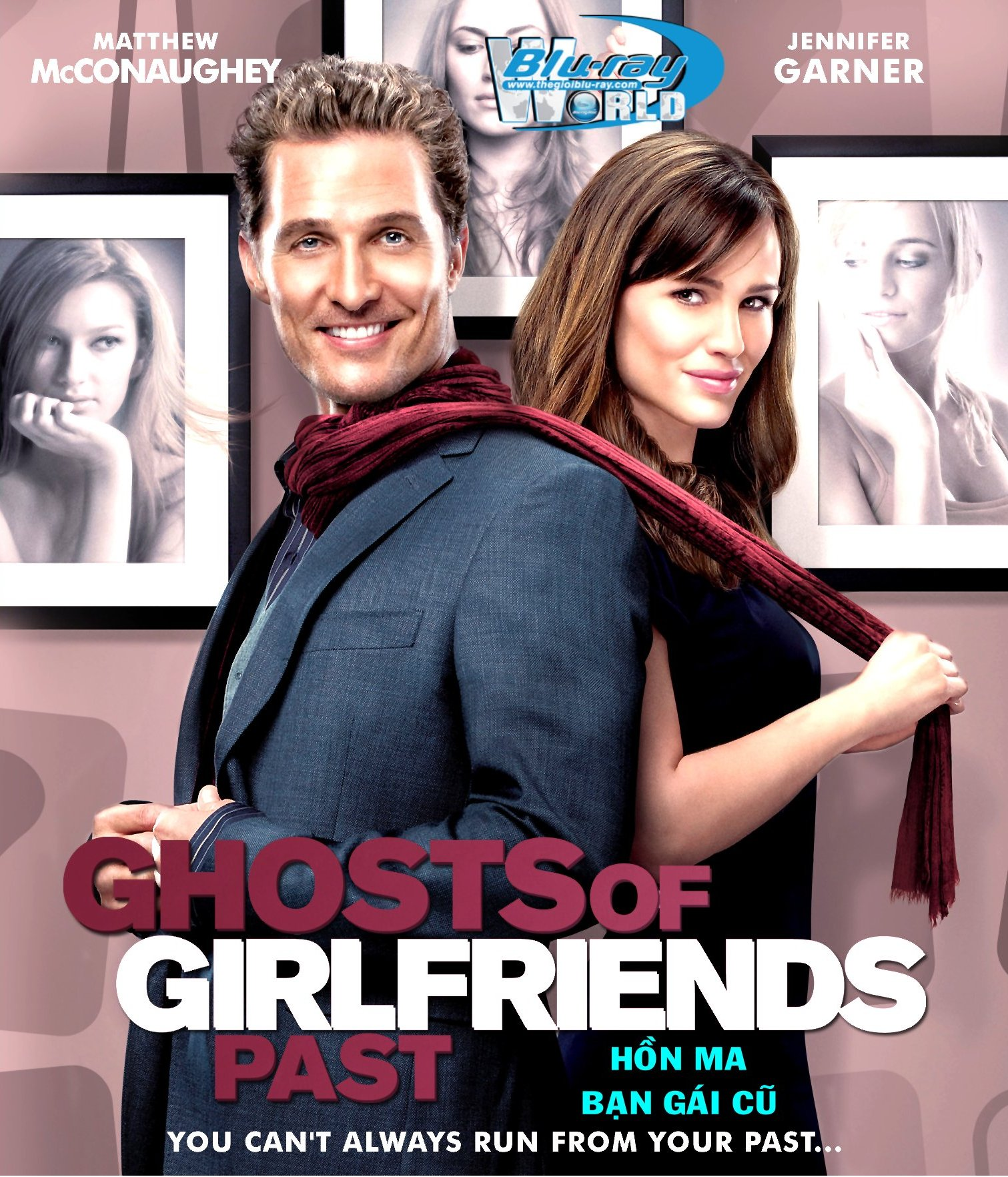 B1666. Ghosts of Girlfriends Past  - HỒN MA BẠN GÁI CŨ 2D 25G (DTS-HD MA 5.1)