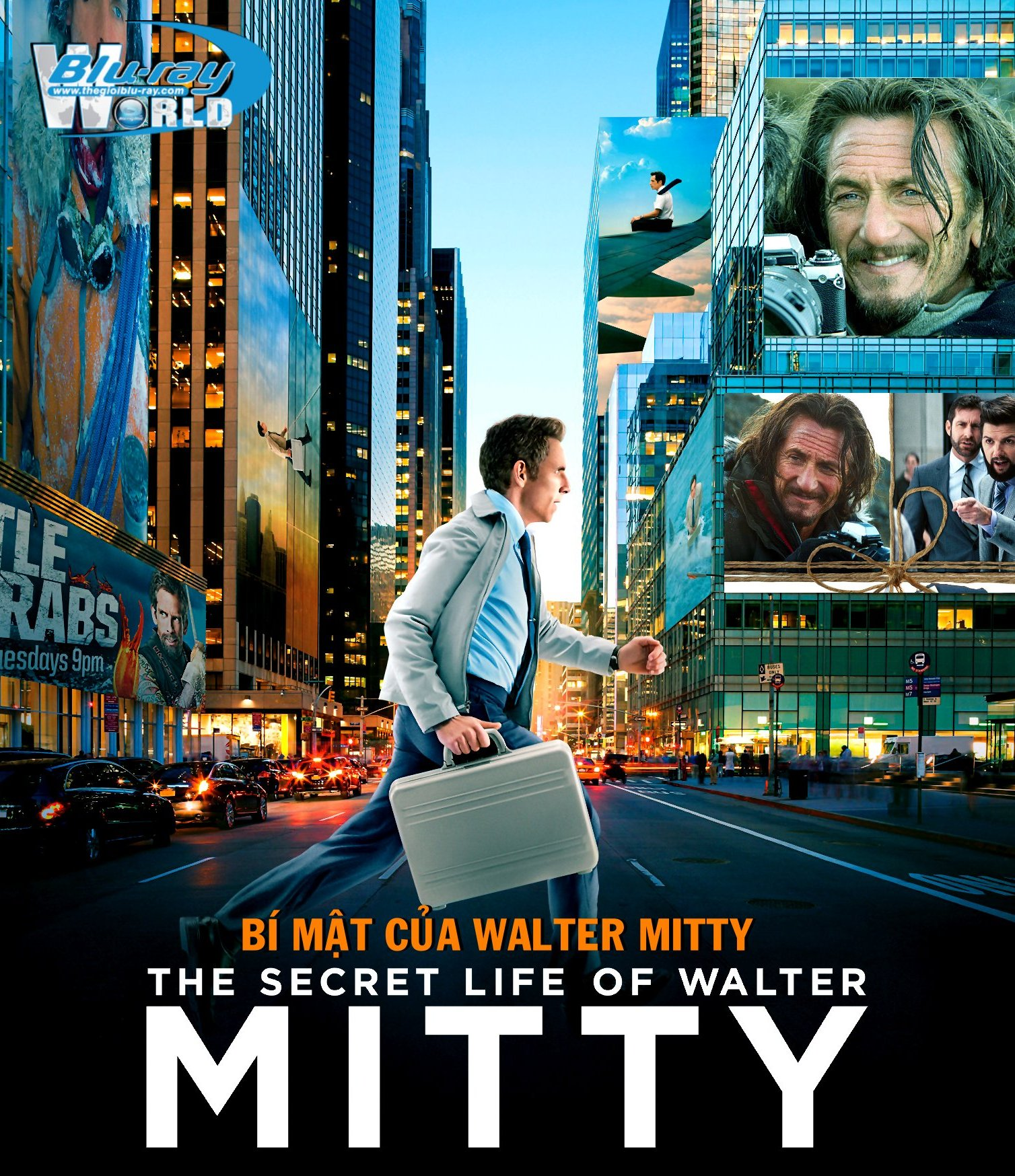 B1690. The Secret Life of Walter Mitty 2013 - BÍ MẬT CỦA WALTER MITTY 2D 25G (DTS-HD MA 5.1)