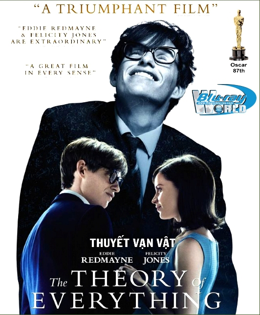 B2064. The Theory of Everything 2014 - THUYẾT VẠN VẬT (OSCARS 87) 2D25G (DTS-HD MA 5.1)