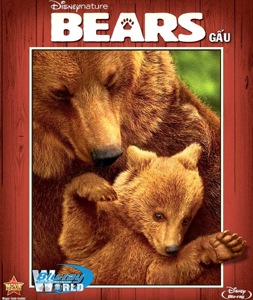 B2257. Disneynature Bears - GẤU 2D25G (DTS-HD MA 5.1)