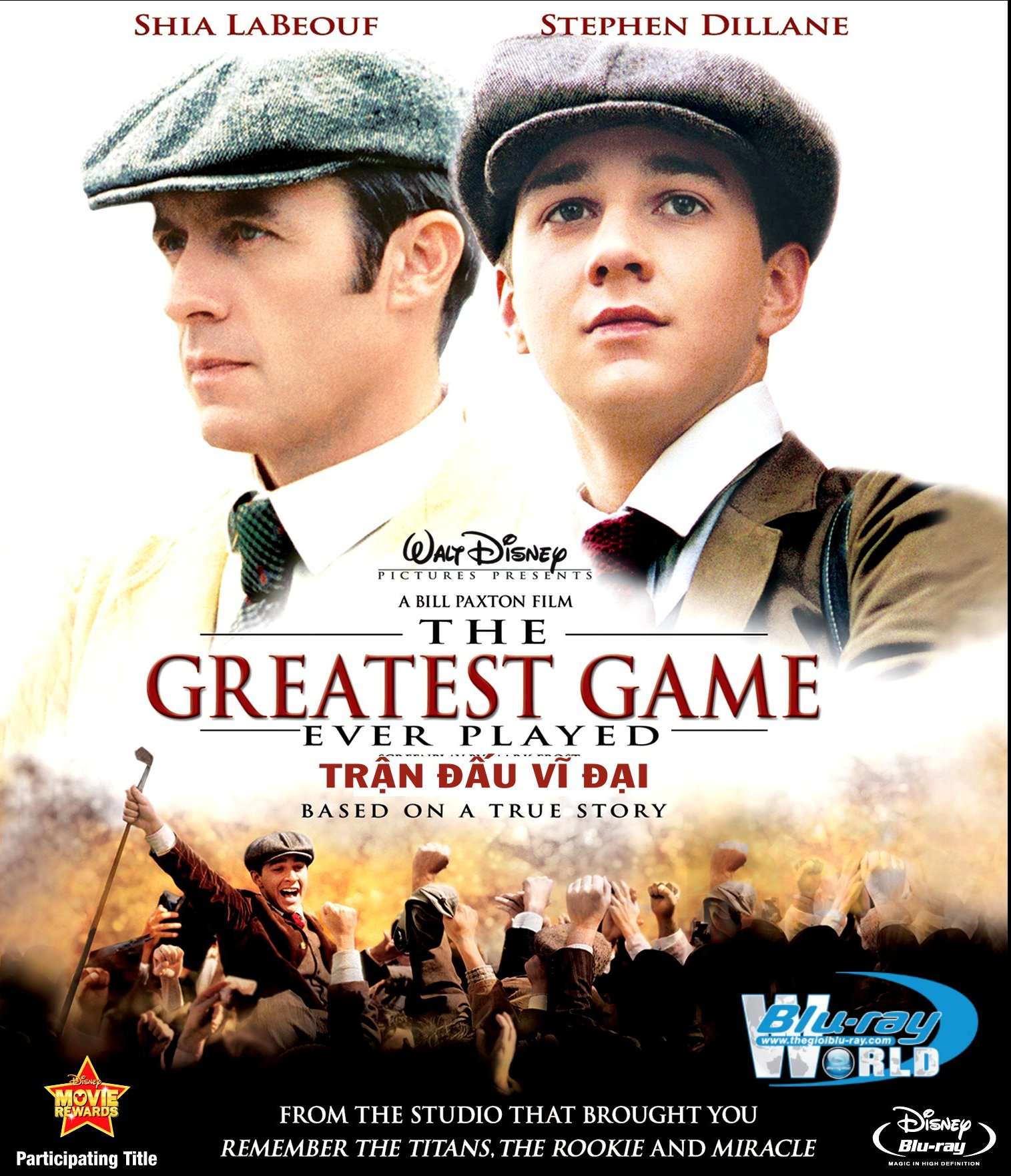 B2310. The Greatest Game Ever Played - TRẬN ĐẤU VĨ ĐẠI 2D25G (DTS-HD MA 5.1)