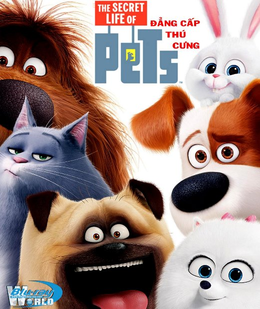 B2766.The Secret Life of Pets 2016 - Đẳng Cấp Thú Cưng 2D25G (TRUE- HD 7.1 DOLBY ATMOS)