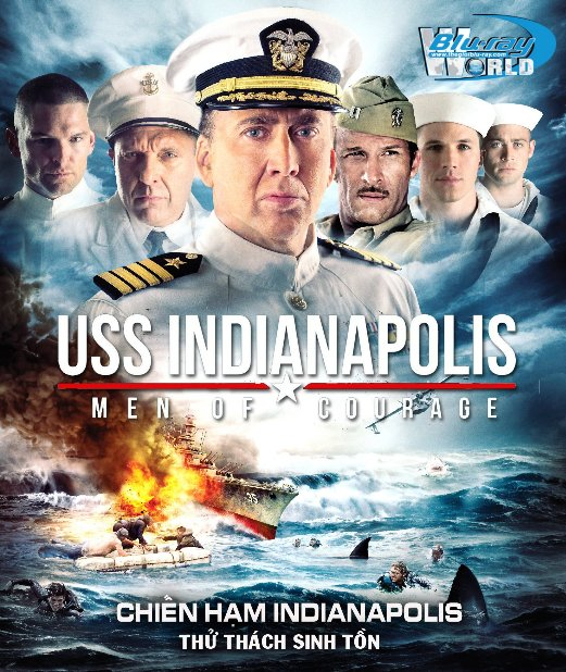F946.USS Indianapolis Men of Courage 2016 - Chiến Hạm Indianapolis: Thử Thách Sinh Tồn 2D50G (DTS-HD MA 5.1)
