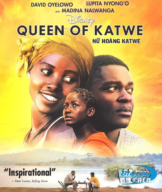 F949.Queen of Katwe 2017 - Nữ hoàng Katwe 2D50G (DTS-HD MA 5.1)