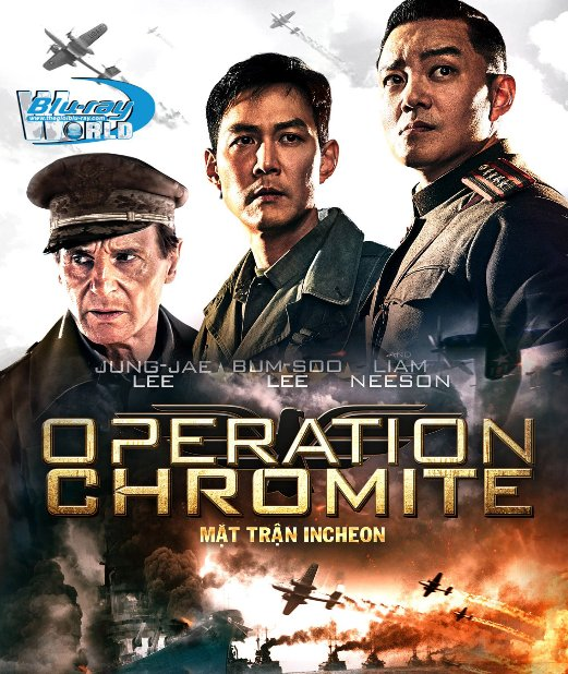 B2850. Operation Chromite 2017 - Mặt Trận Incheon 2D 25G (DTS-HD MA 5.1)