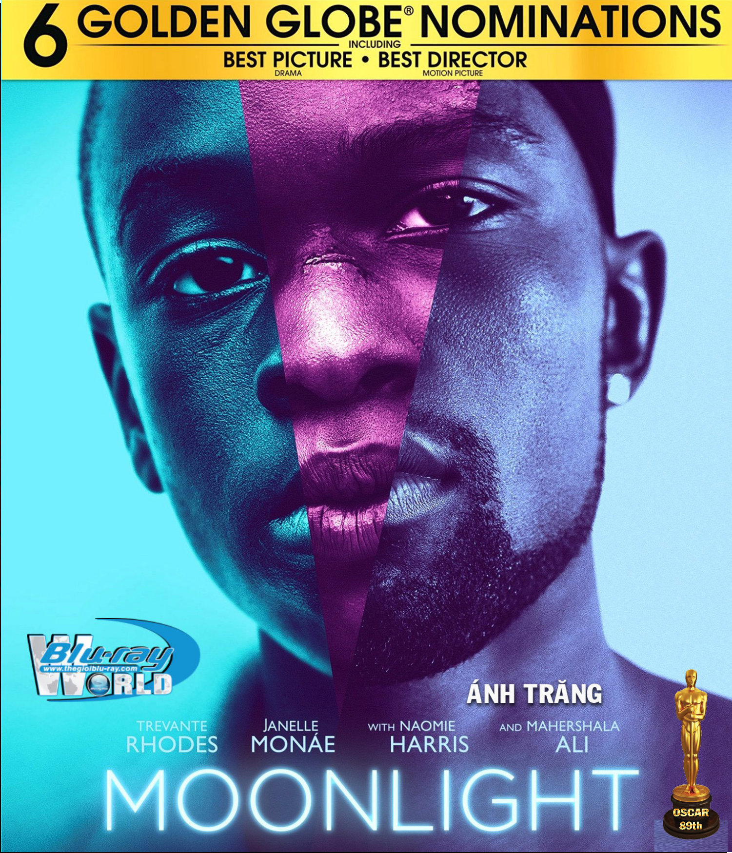 F961. Moonlight 2016 - Ánh Trăng 2016 2D50G (DTS-HD MA 5.1) OSCAR 89TH