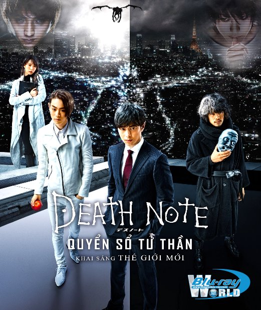 B2985.DEATH NOTE LIGHT UP THE NEW WORLD 2016 - QUYỂN SỔ TỬ THẦN 2D25G (DTS - HD MA 5.1)
