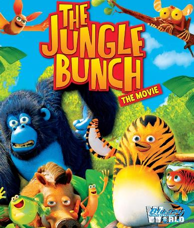 B809 - The Jungle Bunch The Movie - The Jungle Bunch The Movie 2D 25G (DTS-HD 5.1)