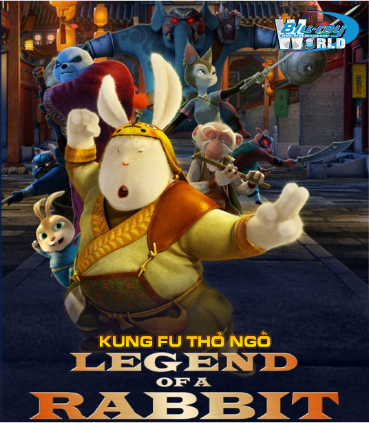 B906 - Legend Of A Rabbit - KUNG FU THỎ NGỐ 2D 25G ( DTS-HD 7.1 )
