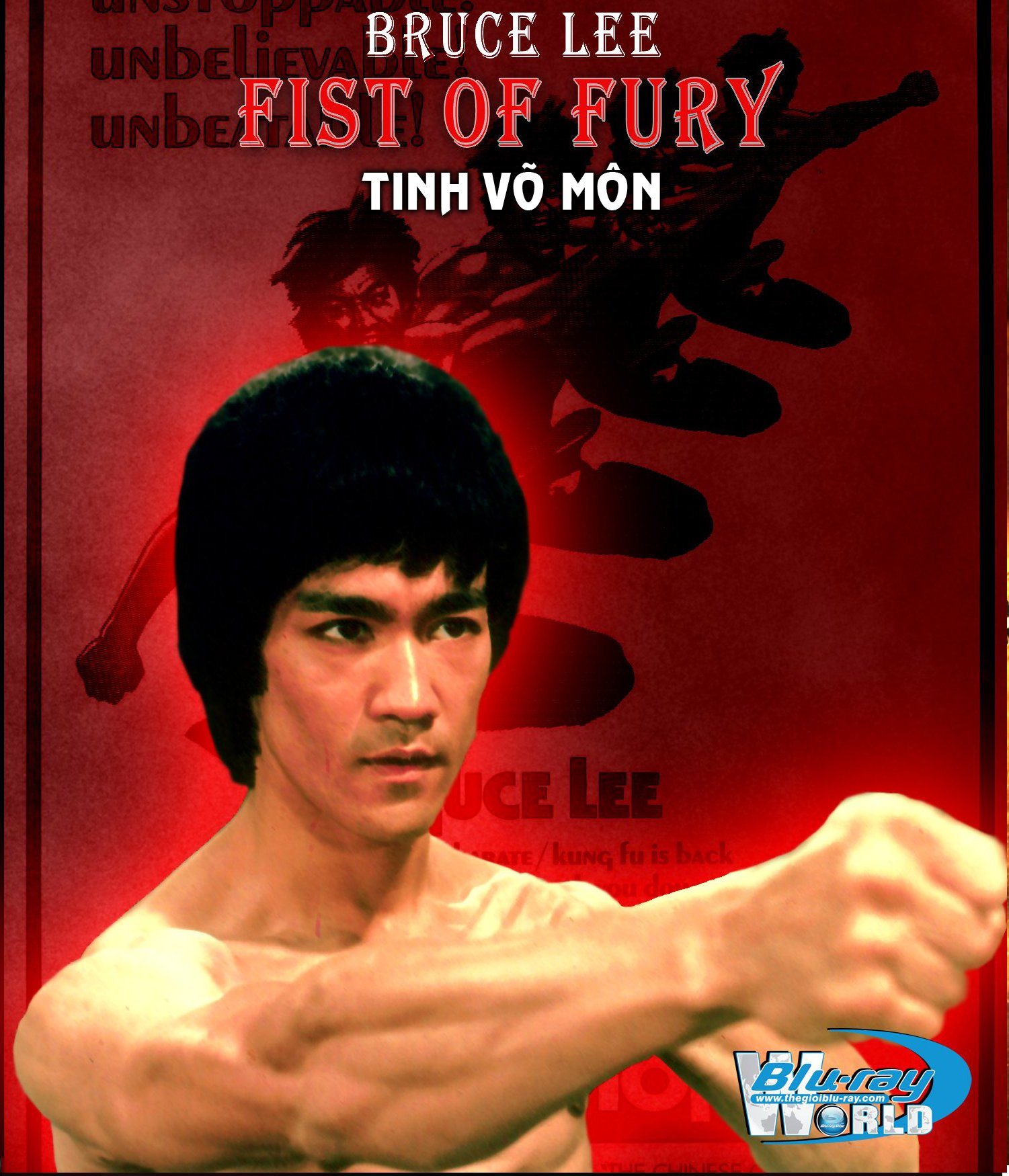 B1467.Bruce Lee - FIST OF FURY (TINH VO MON)