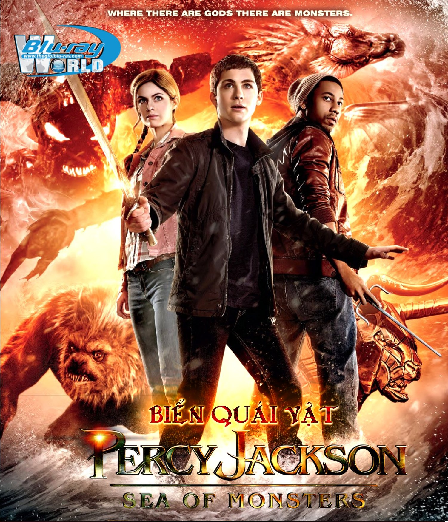 B1521. Percy Jackson Sea of Monsters  - BIỂN QUÁI VẬT 2D 25G (DTS-HD MA 5.1)