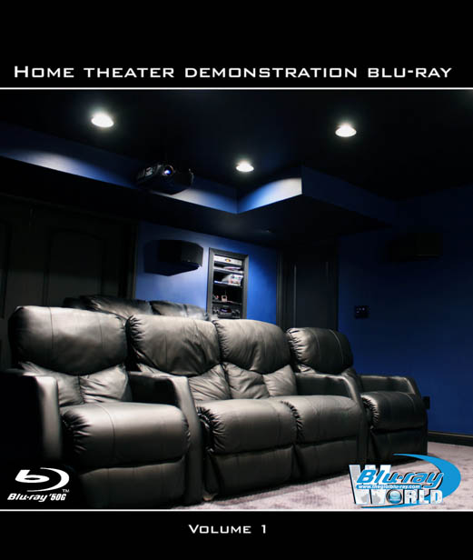 F141 - Home Theater Demonstration Bluray Volume 1 3D 50G