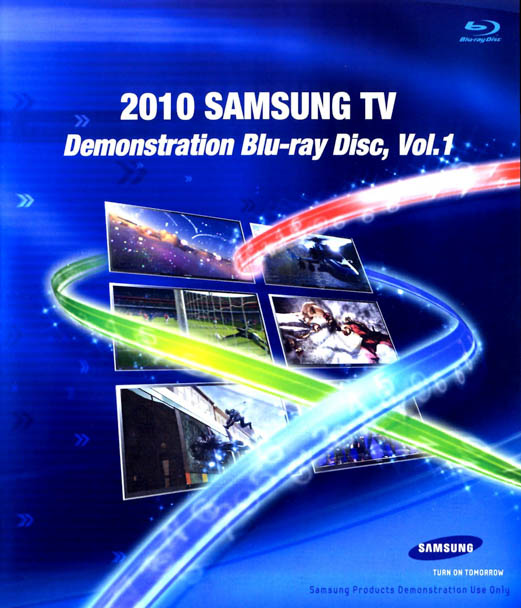 F145 - 2010 Samsung TV Demonstration Blu-ray Disc Vol.1 3D 50G