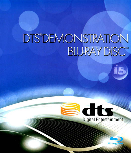 F146 - DTS Demonstration Blu-ray Disc 15 2010 3D 50G