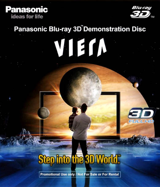 F149 - Panasonic Blu-ray 3D Demonstration Disc 3D 50G