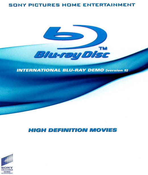 F157. Sony - SPHE International Blu-Ray Demo - Version 5 3D 50G