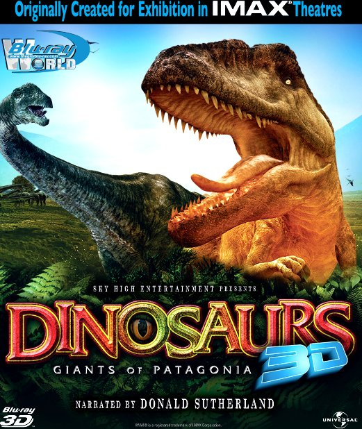 F408. IMAX - Dinosaurs Giants of Patagonia 3D