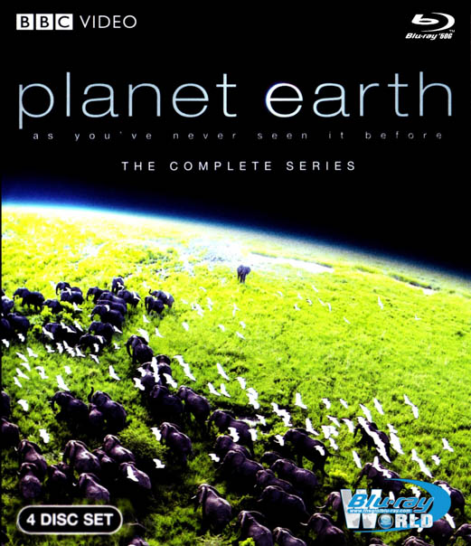 F443 - Planet Earth BBC 2D 50G (4 DISC)