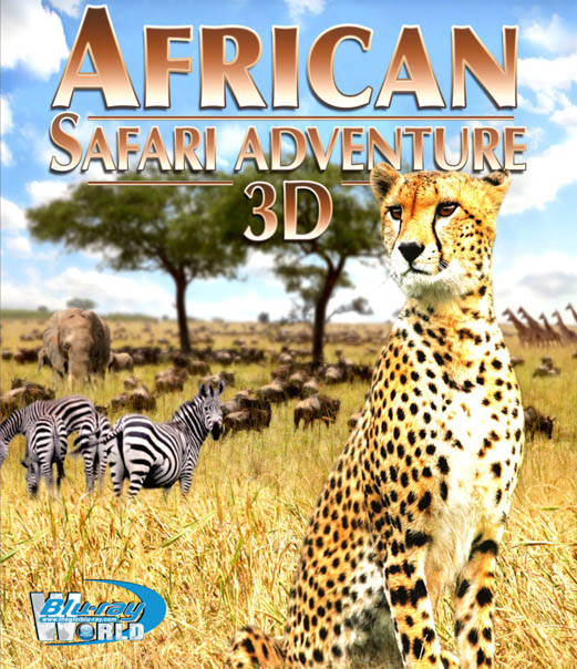 F462. African Safari Adventure 3D