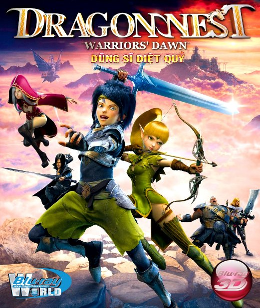 D261. Dragon Nest Warriors Dawn 2014 - HIỆP SĨ DIỆT QUỶ 3D25G (DTS-HD MA 5.1)
