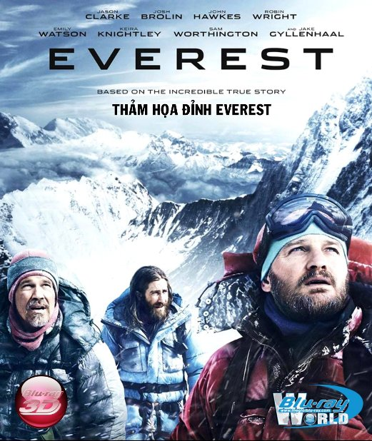 D276. Everest 2015 - THẢM HỌA ĐỈNH EVEREST 3D25G (TRUE-HD 7.1 DOLBY ATMOS)