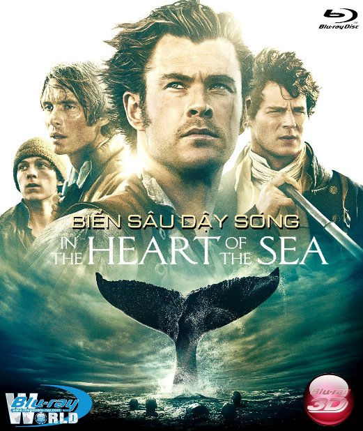 D279. In the Heart of the Sea 2016 - BIỂN SÂU DẬY SÓNG 3D25G (DTS-HD MA 5.1)