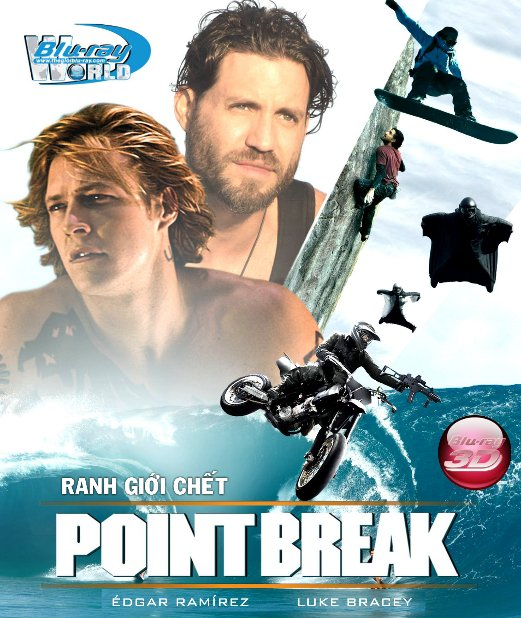 D281. Point Break 2016 - Ranh Giới Chết 3D25G (DTS-HD MA 5.1)