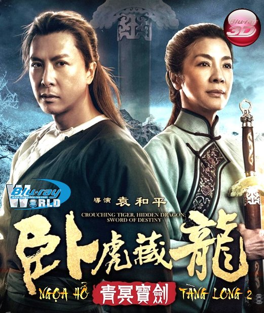 D283.Crouching Tiger Hidden Dragon Sword of Destiny 2016 - Ngọa Hổ Tàng Long 2 3D25G (DOLBY TRUE- HD 5.1)