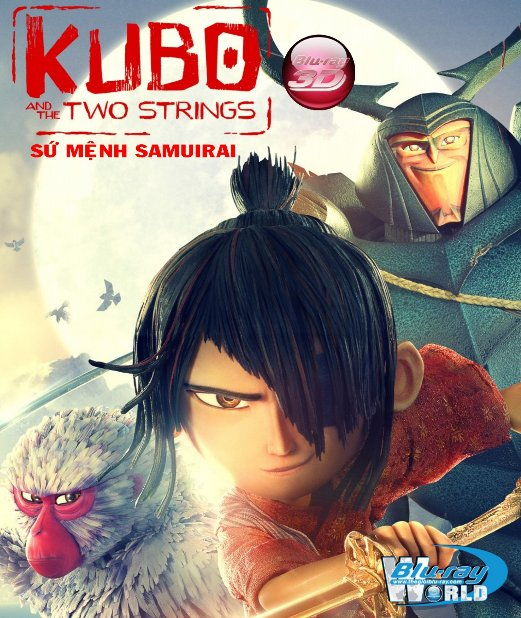 D310.Kubo and the Two Strings 2016 - Kubo và Sứ Mệnh Samurai 3D25G (DTS-HD MA 5.1)