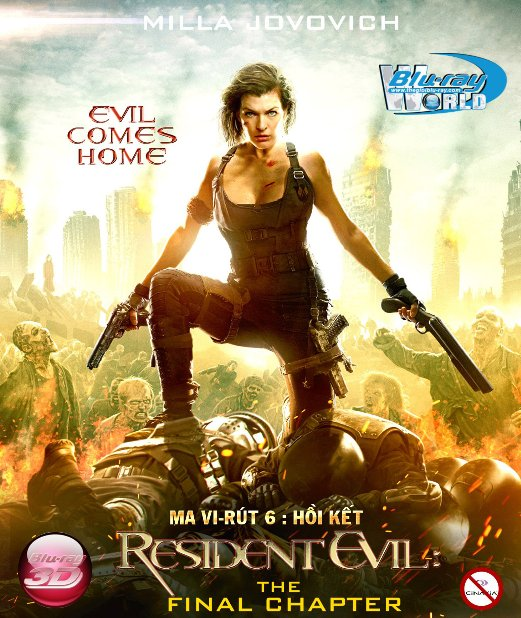 D324.Resident Evil The Final Chapter 2016 - MA VIRUS 6: HỒI KẾT 2D25G (TRUE - HD 7.1 DOLBY ATMOS)