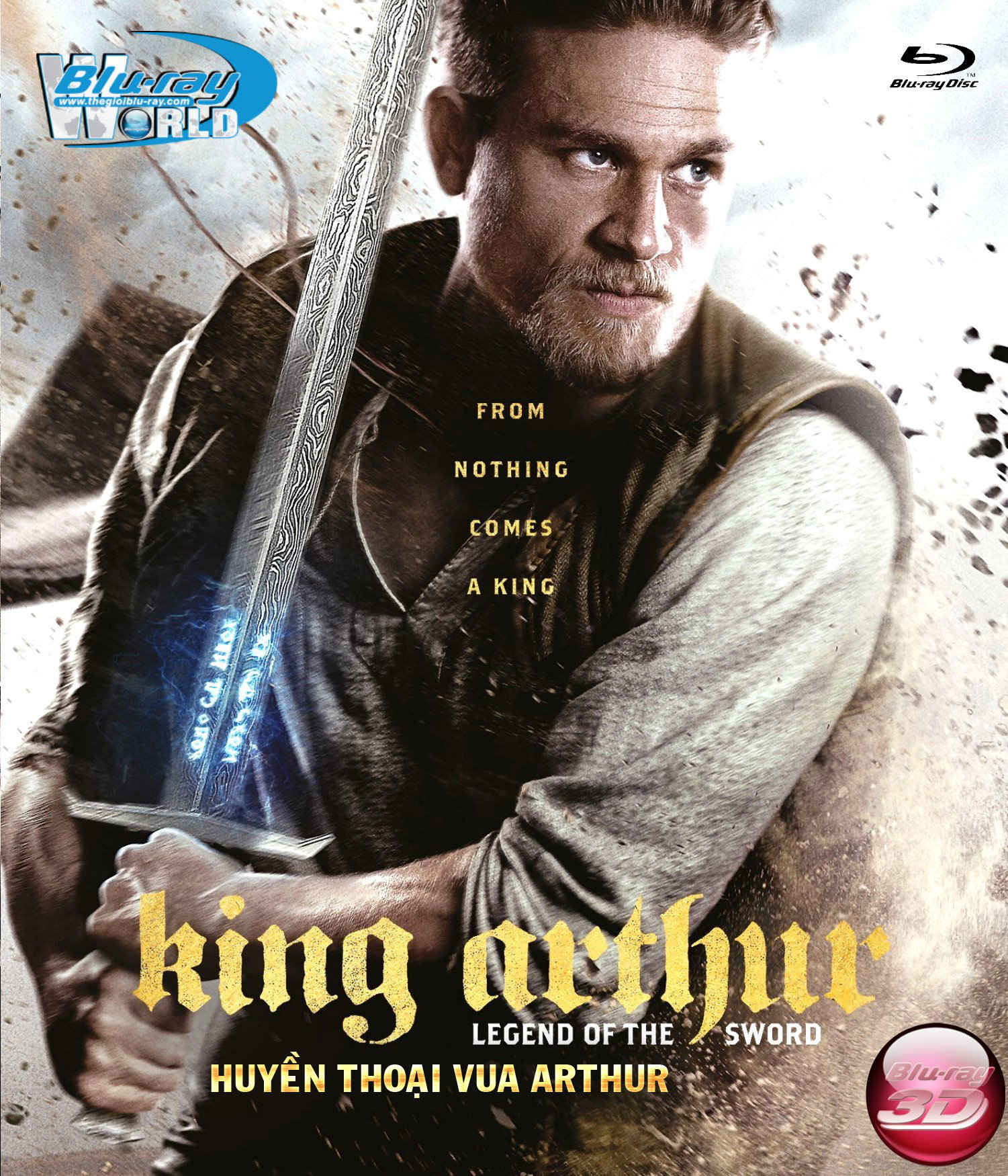 D336.King Arthur Legend of the Sword (2017) (HUYEN THOAI VUA ARTHUR) 3D25G