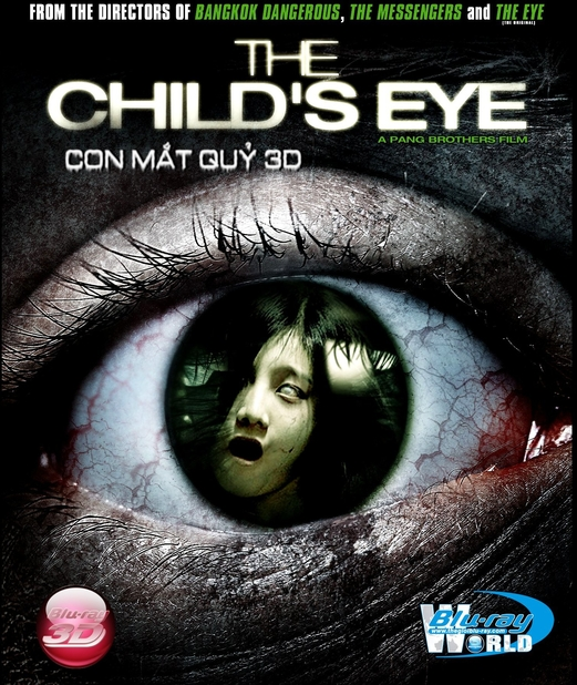 D148. THE CHILDS EYE - CON MẮT QUỶ 25G (DTS-HD MA 5.1)