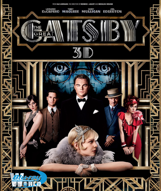 D162. The Great Gatsby - ĐẠI GIA GATSBY 3D 25G (DTS-HD MA 5.1)