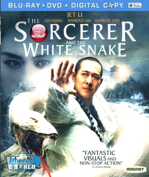 D163. The Sorcerer and the White Snake - THANH XÀ BẠCH XÀ 3D 25G (DTS-HD MA 5.1)