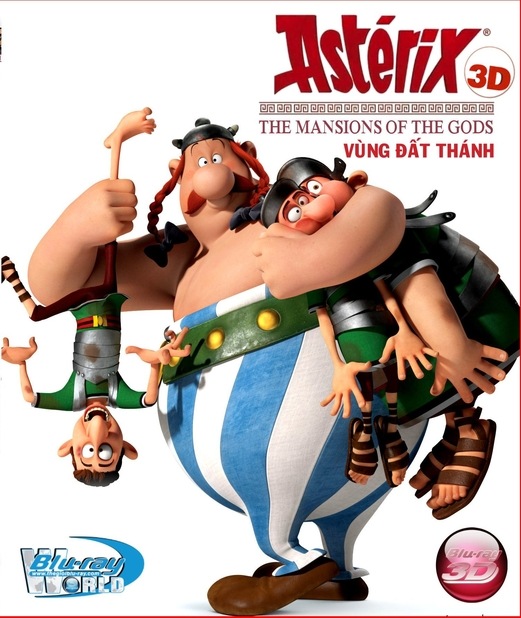 D247. Asterix The Mansions Of The God - VÙNG ĐẤT THÁNH 3D25G (DTS-HD MA 5.1)