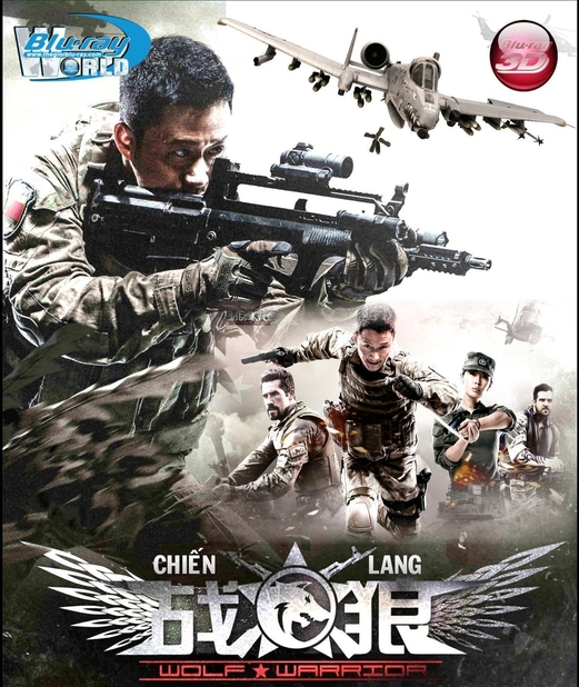 D253. Wolf Warrior 2015 - CHIẾN LANG 3D 25G (DOLBY TRUE-HD 7.1)