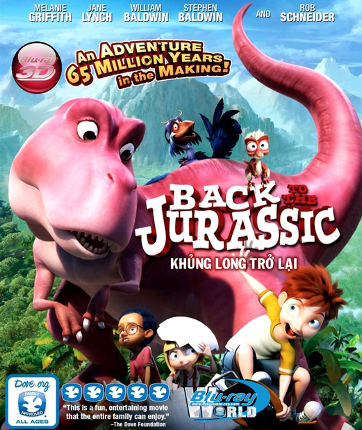 D258. Back to the Jurassic 2015 - KHỦNG LONG TRỞ LẠI 3D 25G (DTS-HD MA 5.1)