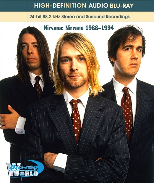 M1338.Nirvana Nirvana (1988–1994) AUDIO BLURAY (25G)
