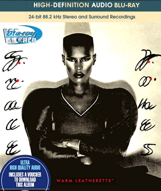 M1520.Grace Jones Warm Leatherette (1980) BLURAY AUDIO (25G)