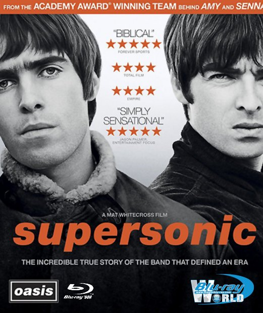 M1544.Oasis Supersonic (2016) Blu-ray (50G)