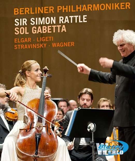 M1564.Sol Gabetta & Sir Simon Rattle in Baden-Baden  (25G)