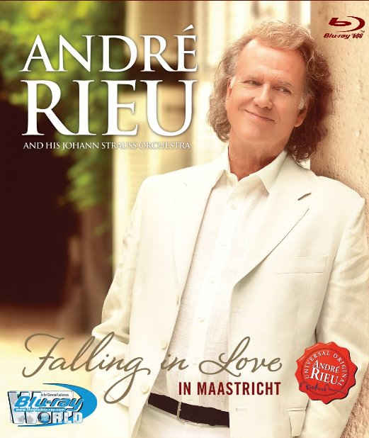 M1580.André Rieu and His Johann Strauss Orchestra Falling in Love – Live in Maastricht (2016) (50G)