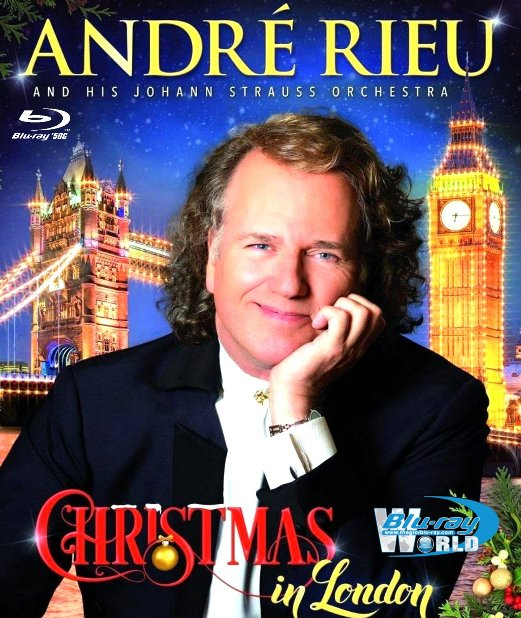 M1591.André Rieu Christmas in London (2015) (50G)