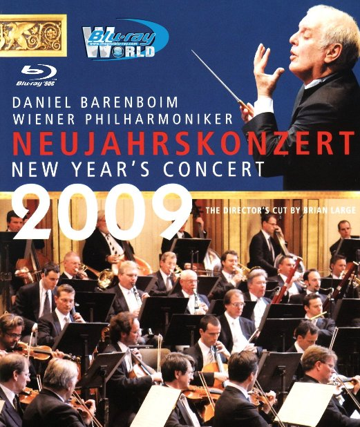 M1627.The New Year Concert in Vienna 2009 (50G)
