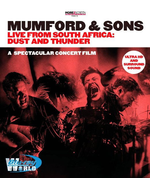 M1636.Mumford & Sons Live from South Africa Dust and Thunder 2016  (50G)
