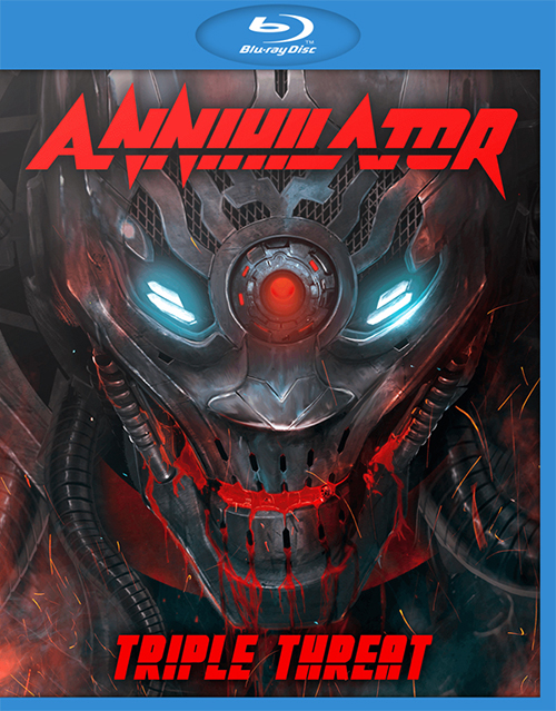 M1652.Annihilator Triple Threat (2016) (50G)